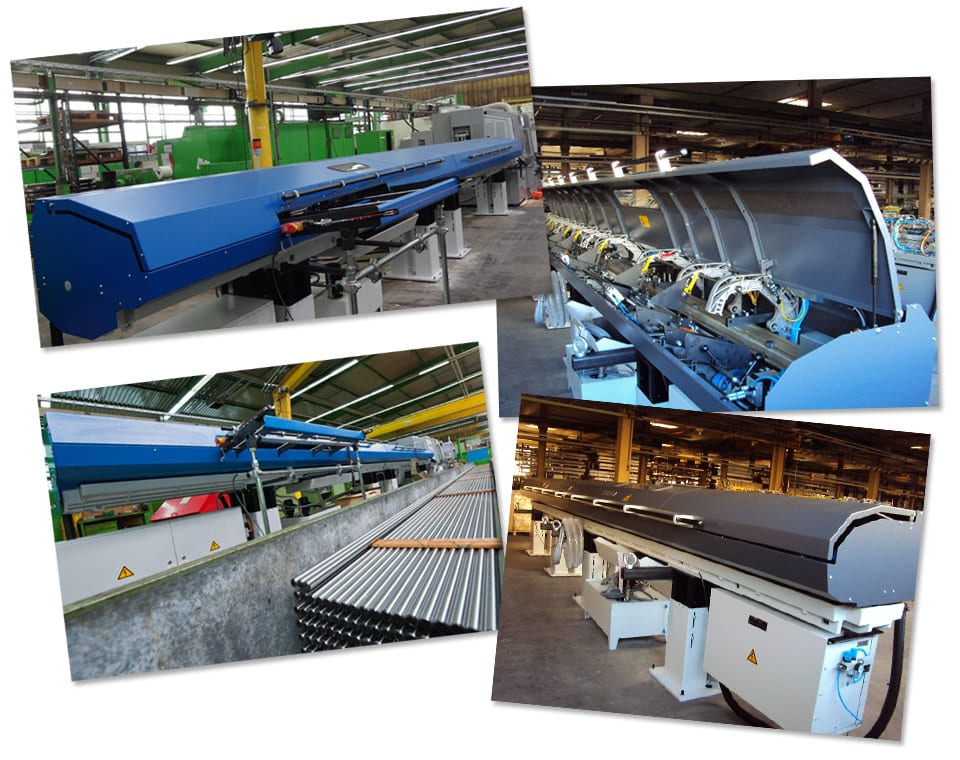 Images of Extended Length bar feeder projects